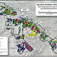 Mineralized Zones and Soil Geochemical Anomalies